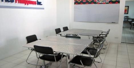 キャンパス内のグループ教室