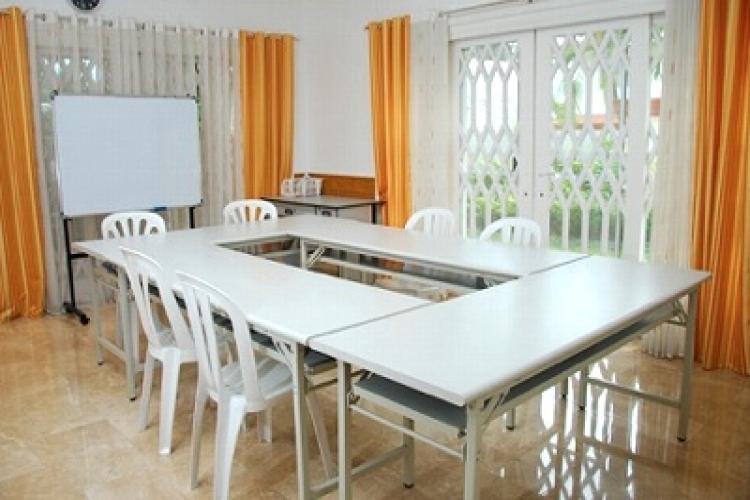 シェアハウス内のグループ教室