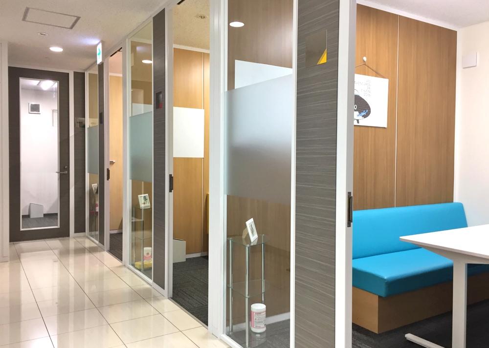 セブ島留学センターの東京オフィスの相談ルーム
