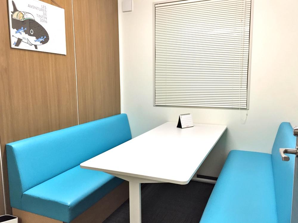 セブ島留学センターの東京オフィスの相談ルーム2