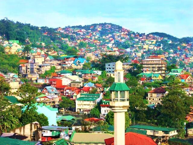 フィリピン・バギオの風景