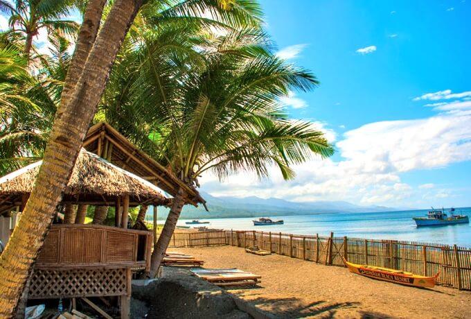 パナイ島のリゾート