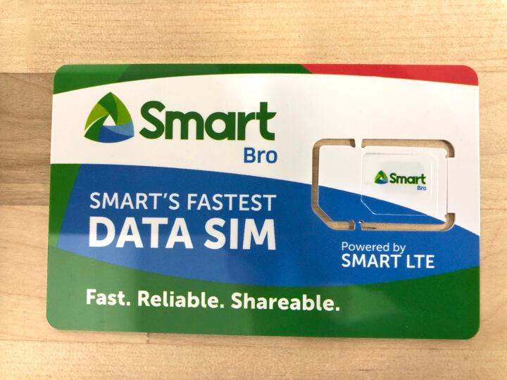 フィリピン・セブで販売されているSMARTのポケットWiFi