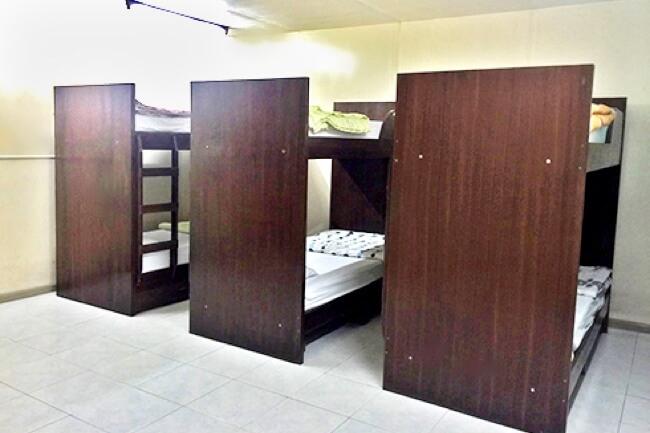 3D Academyの6人部屋(内部寮)