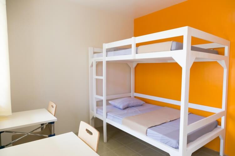 IDEA Academiaの2人部屋