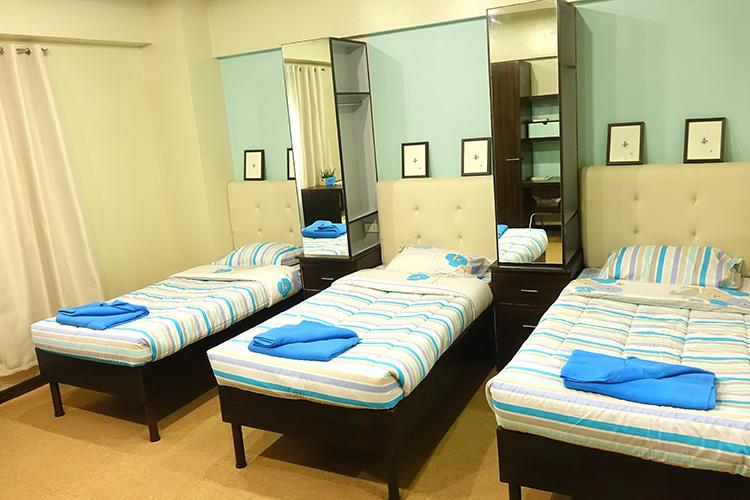 MONOLのの3人部屋