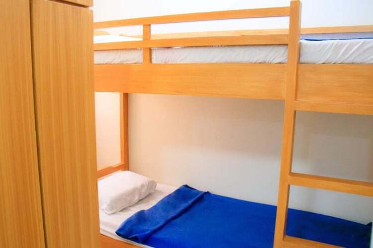 NILSのNEWキャンパスの2人部屋