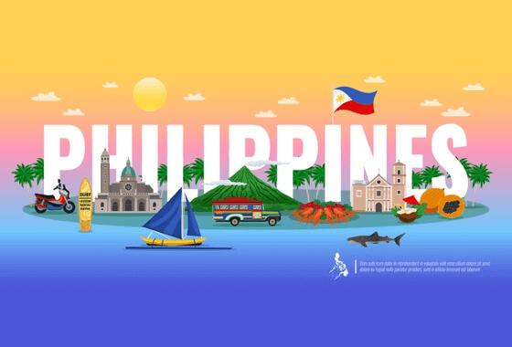 フィリピンのイメージイラスト