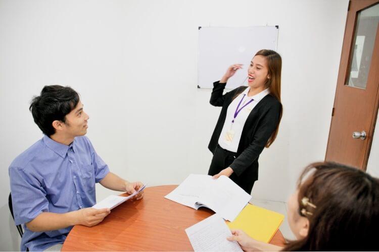 グループ授業の写真