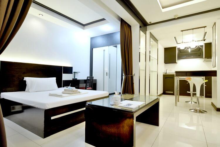 Brilliant Cebu(ブリリアント セブ)の1人部屋