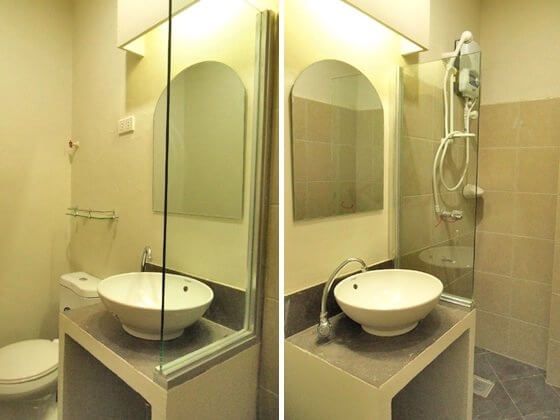 バスルームの風景