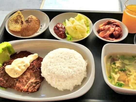 EV Academyの食事例