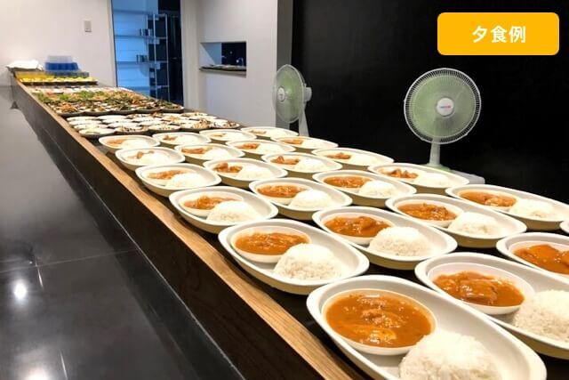 フィリピン留学の夕食例