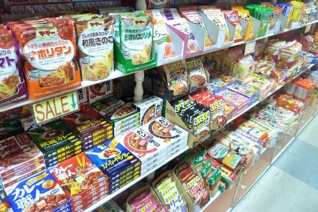セブ島にある日本食品店(町屋マート)