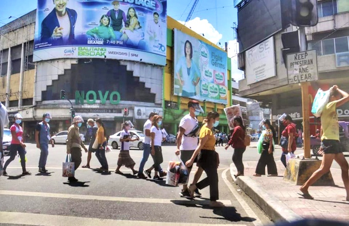 フィリピン・セブ市内の今の様子2