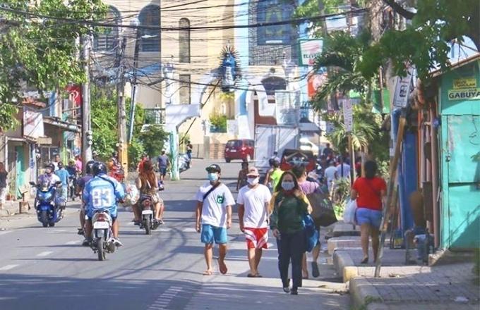 フィリピン・セブ市内の今の様子1