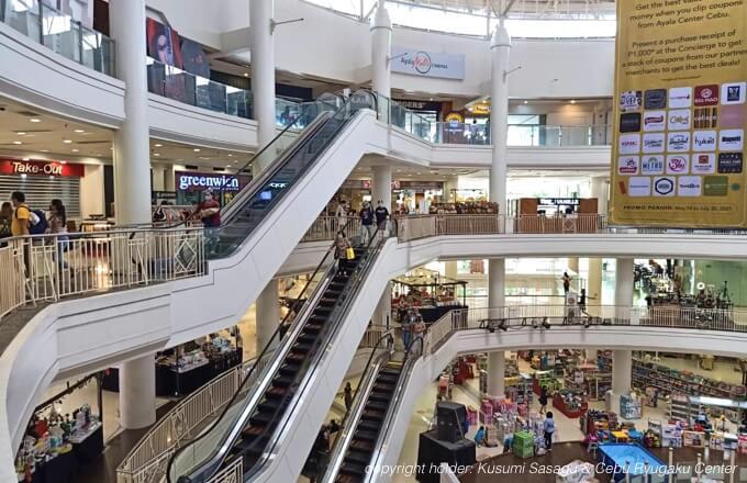 コロナ禍におけるセブのショッピングモールの様子2