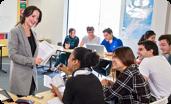 オーストラリアの語学学校の授業風景