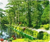 フィリピン留学バギオ地域にあるライト公園