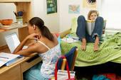フィリピン留学後に学生寮に住む