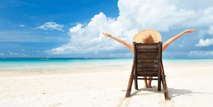 セブ島の美しいリゾートビーチの写真