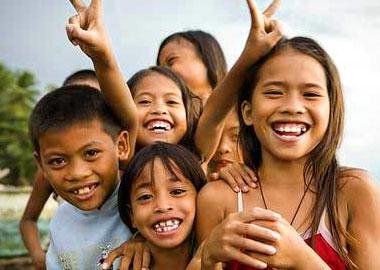 セブ島の子供たち