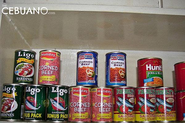 フィリピンの缶詰