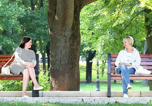 会話の風景写真