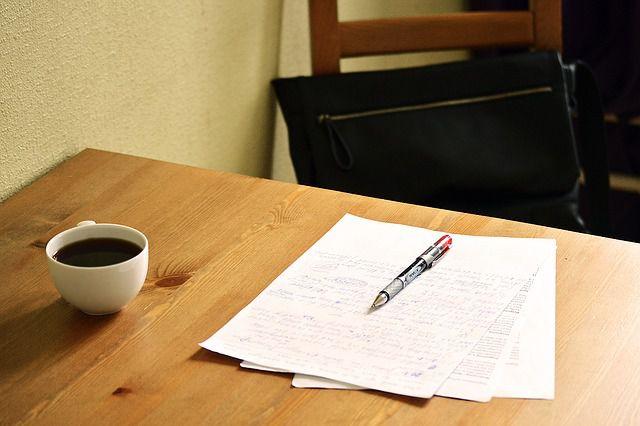 勉強の風景写真