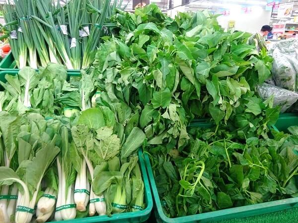 フィリピン産の野菜