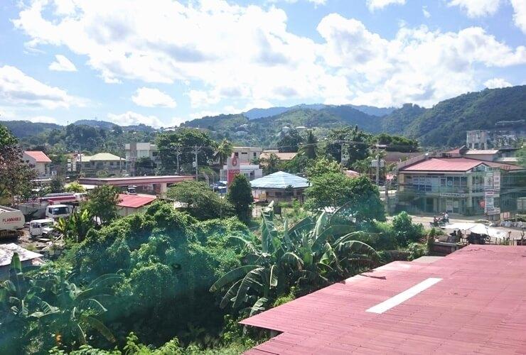 セブ島留学の学校(C2 Ubec English Academy)から見える風景