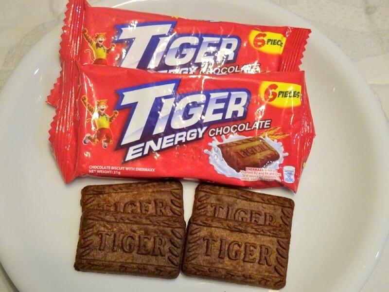 フィリピン・セブのお菓子 TIGER ENERGY CHOCOLATE