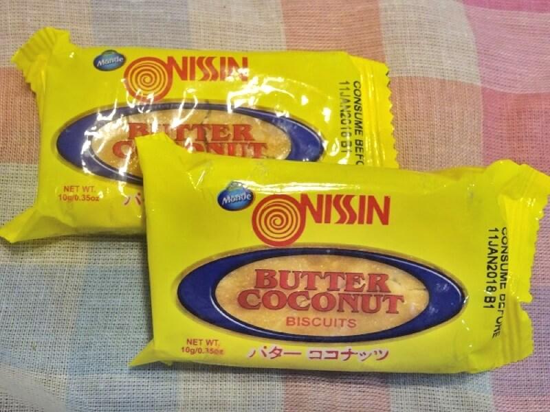 フィリピン・セブのお菓子 BUTTER COCONUT