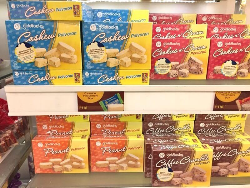 フィリピン・セブのお菓子 Polvoron