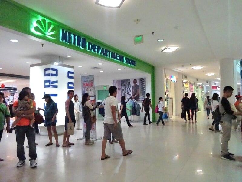 セブ島のメトロスーパーマーケット