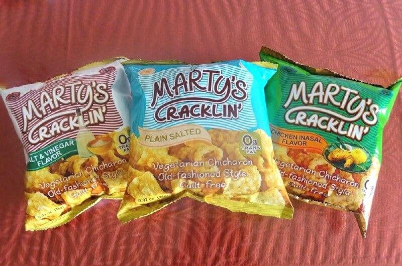 フィリピン・セブのお菓子 MARTY'S CRACKLIN'