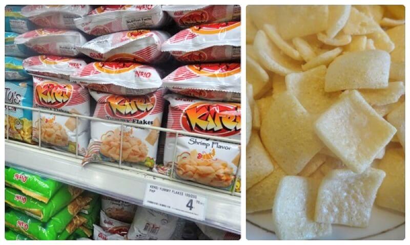 フィリピン・セブのお菓子 Kirei Yummy flakes shrimp flavor