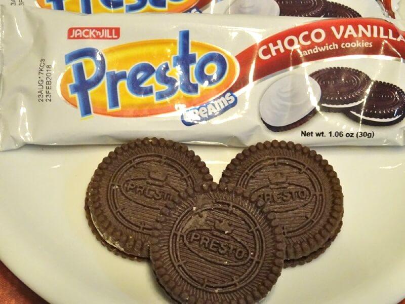 フィリピン・セブのお菓子 Presto