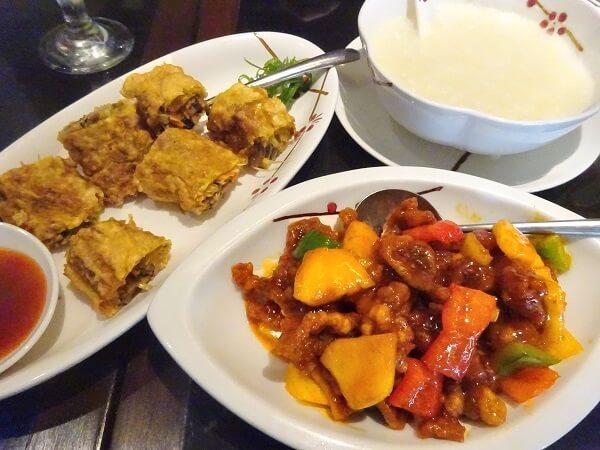 セブ島シャングリラのレストラン「Tea of Spring」の料理
