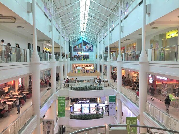 アヤラモール(Ayala Mall)