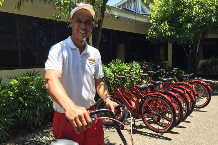 プランテーションベイの自転車